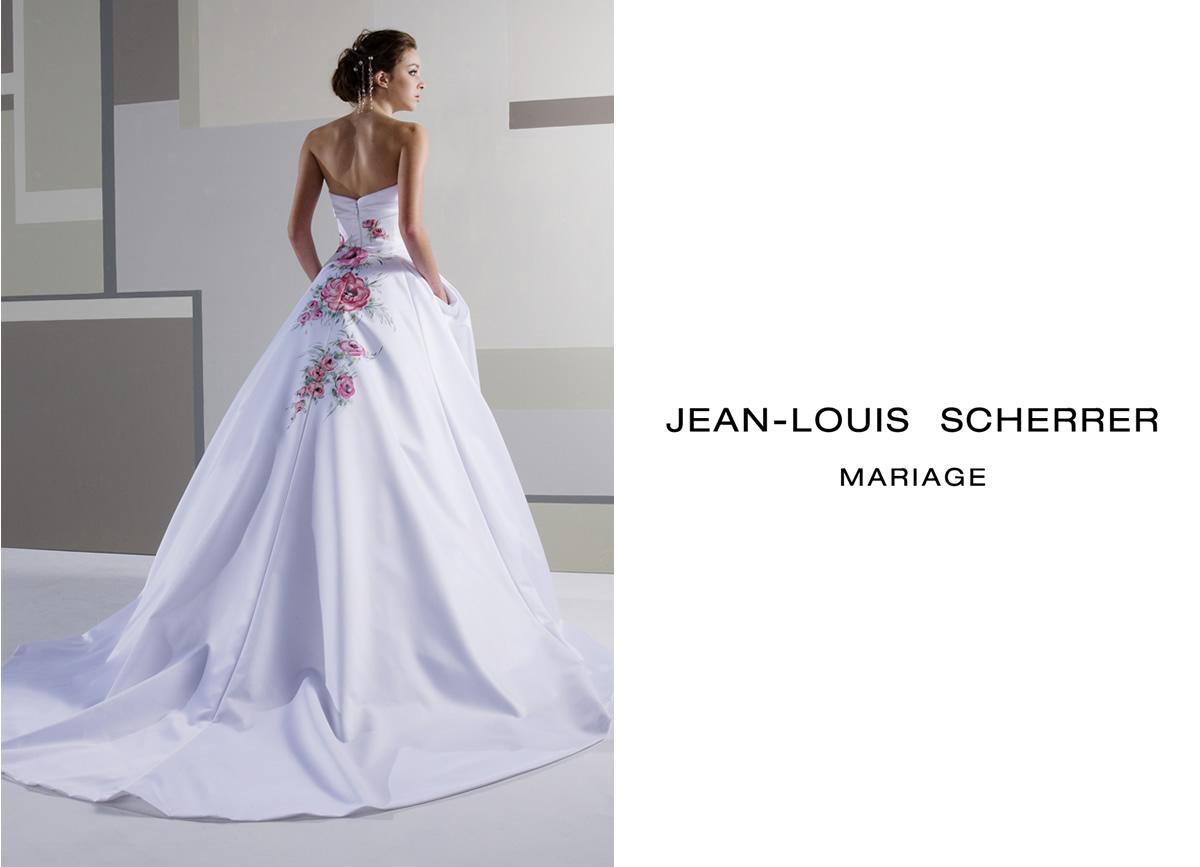 ジャンルイシェレルのウエディングドレス