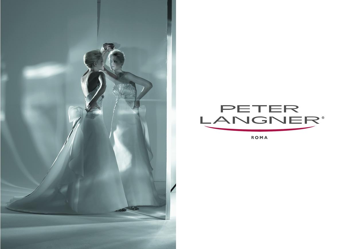 ピーターラングナーのウエディングドレス